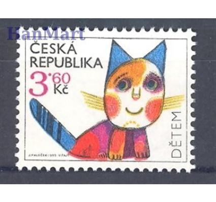 Znaczek Czechy 1995 Mi 80 Czyste **