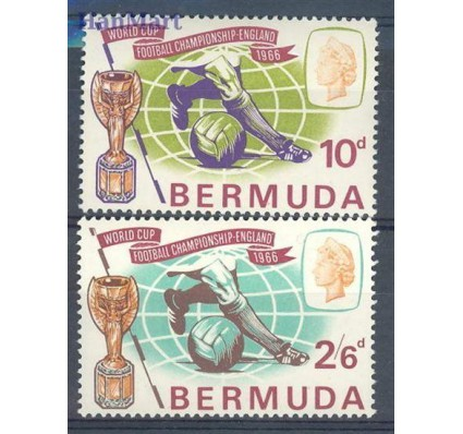 Znaczek Bermudy 1966 Mi 194-195 Czyste **