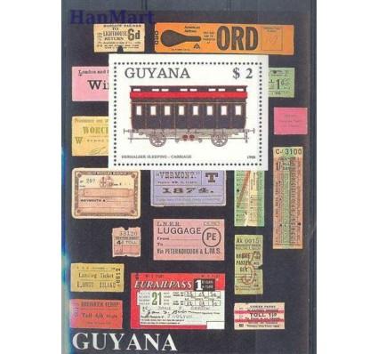 Znaczek Gujana 1989 Mi bl 33 Czyste **