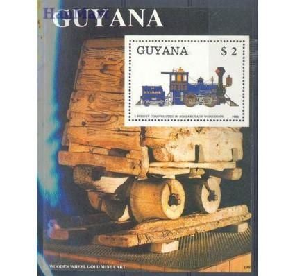Znaczek Gujana 1989 Mi bl 34 Czyste **