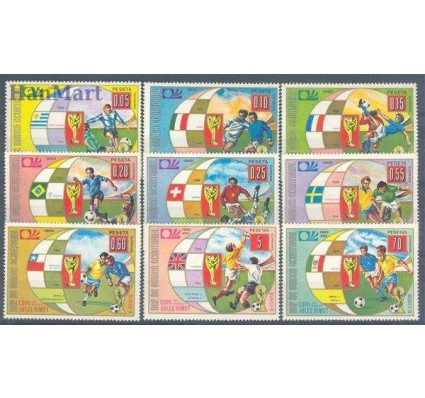 Znaczek Gwinea Równikowa 1973 Mi 275-283 Czyste **