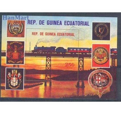 Znaczek Gwinea Równikowa 1978 Mi bl 307 Czyste **