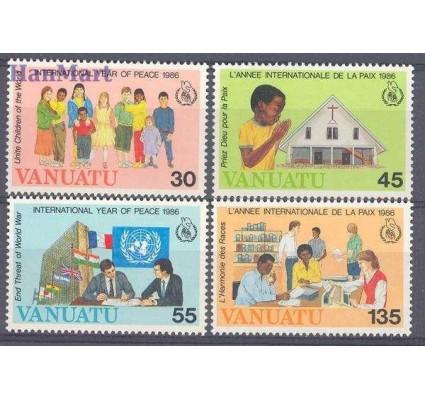 Znaczek Vanuatu 1986 Mi 736-739 Czyste **