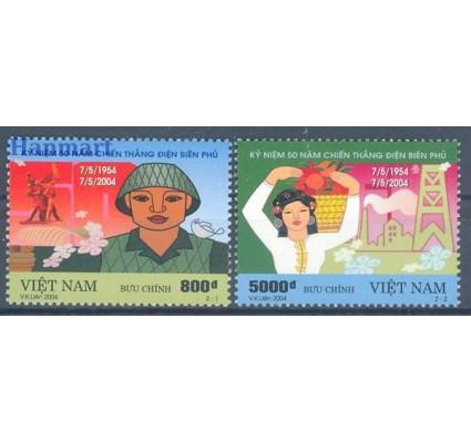 Znaczek Wietnam 2004 Mi 3328-3329 Czyste **