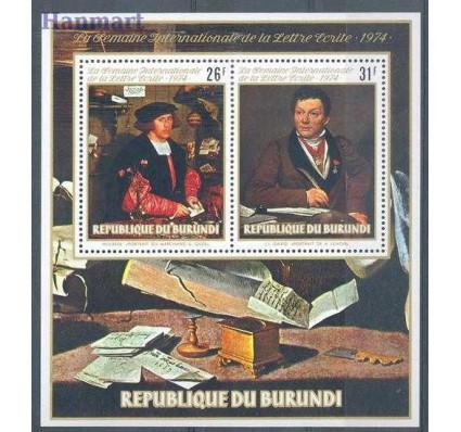 Znaczek Burundi 1974 Mi bl 81 Czyste **