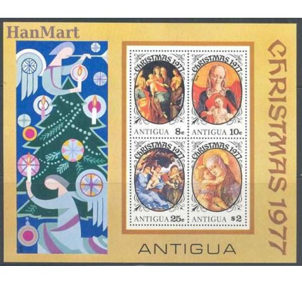 Znaczek Antigua i Barbuda 1977 Mi bl 32 Czyste **