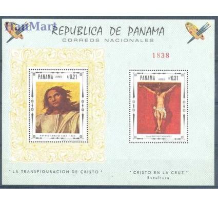 Znaczek Panama 1968 Mi bl 83 Czyste **