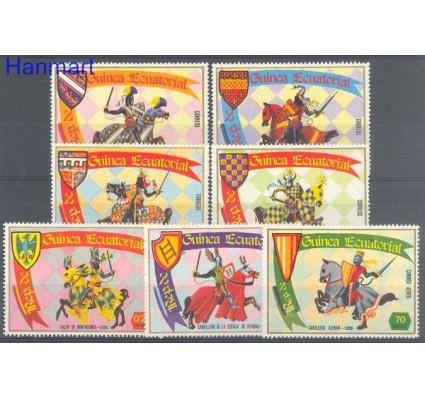 Znaczek Gwinea Równikowa 1978 Mi 1324-1330 Czyste **