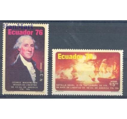 Znaczek Ekwador 1976 Mi 1734-1735 Czyste **