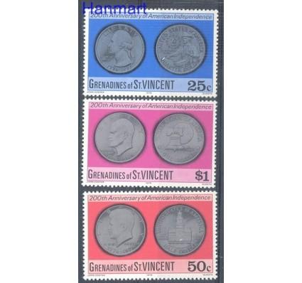 Znaczek Grenadines of St Vincent 1976 Mi 80-82 Czyste **