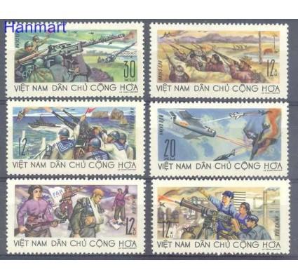 Znaczek Wietnam 1967 Mi 499-504 Czyste **