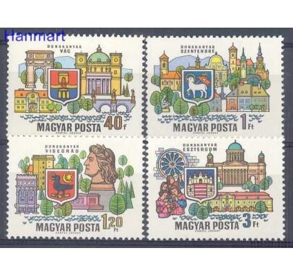 Znaczek Węgry 1969 Mi 2514-2517 Czyste **