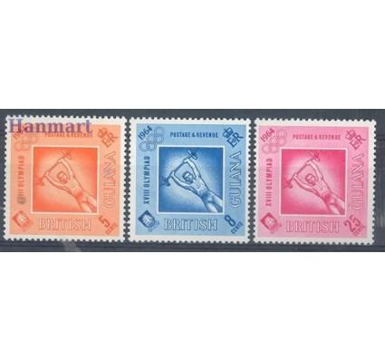 Znaczek Gujana 1964 Mi 229-231 Czyste **