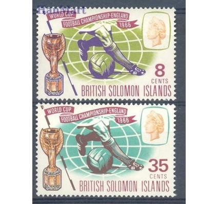 Znaczek Wyspy Salomona 1966 Mi 154-155 Czyste **