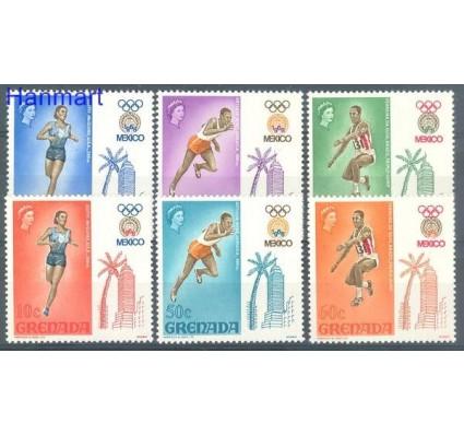 Znaczek Grenada 1968 Mi 271-276 Czyste **