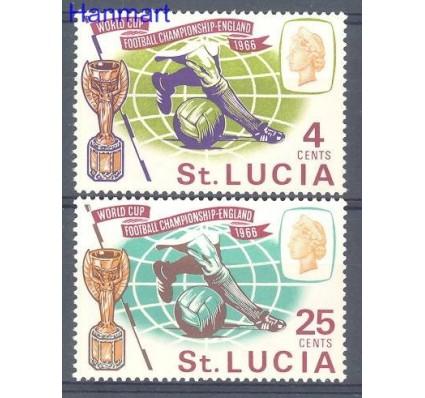 Znaczek Saint Lucia 1966 Mi 196-197 Czyste **