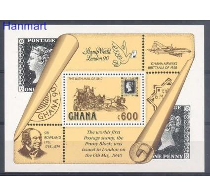 Znaczek Ghana 1990 Mi bl 156 Czyste **