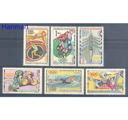 Znaczek Czechosłowacja 1964 Mi 1488-1493 Czyste **