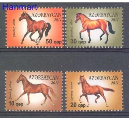 Znaczek Azerbejdżan 2011 Mi 898-901 Czyste **