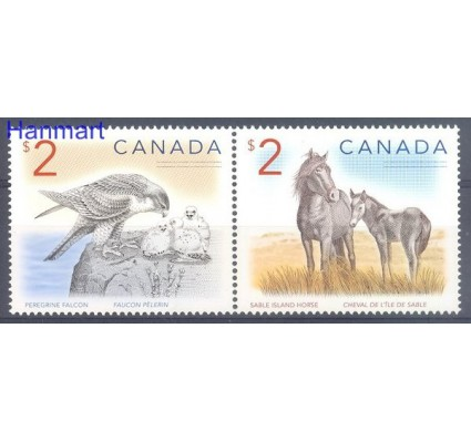 Znaczek Kanada 2005 Mi 2305-2306 Czyste **