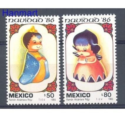 Znaczek Meksyk 1986 Mi 2007-2008 Czyste **