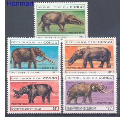 Znaczek Kongo 1994 Mi 1412-1416 Czyste **