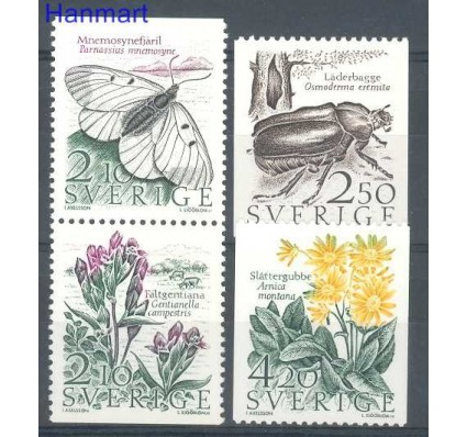 Znaczek Szwecja 1987 Mi 1423-1426 Czyste **