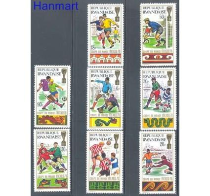 Znaczek Rwanda 1970 Mi 384-391 Czyste **