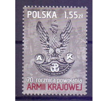 Znaczek Polska 2012 Mi 4548 Fi 4398 Czyste **