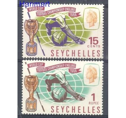 Znaczek Seszele 1966 Mi 228-229 Czyste **