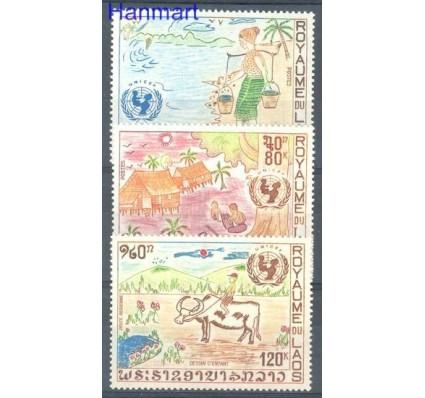 Znaczek Laos 1972 Mi 341-343 Czyste **