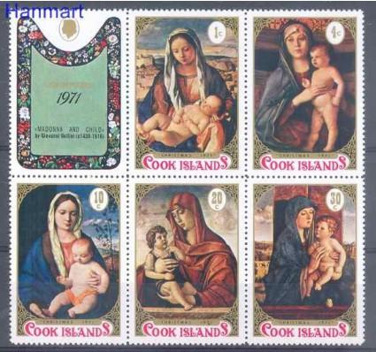 Znaczek Wyspy Cooka 1971 Mi 287-291 Czyste **