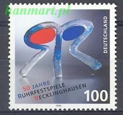 Niemcy 1996 Mi 1859 Czyste **