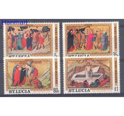 Znaczek Saint Lucia 1974 Mi 344-347 Czyste **