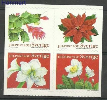 Znaczek Szwecja 2011 Mi 2843-2846 Czyste **