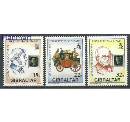 Znaczek Gibraltar 1990 Mi 598-600 Czyste **