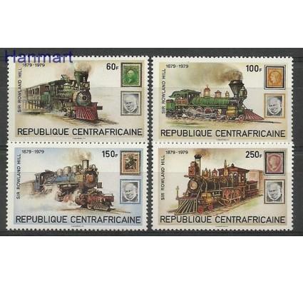 Znaczek Republika Środkowoafrykańska 1979 Mi 648-651 Czyste **