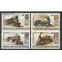 Republika Środkowoafrykańska 1979 Mi 648-651 Czyste **