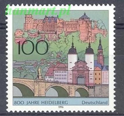 Niemcy 1996 Mi 1868 Czyste **