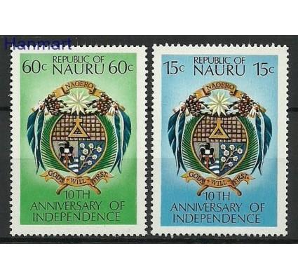 Znaczek Nauru 1978 Mi 156-157 Czyste **