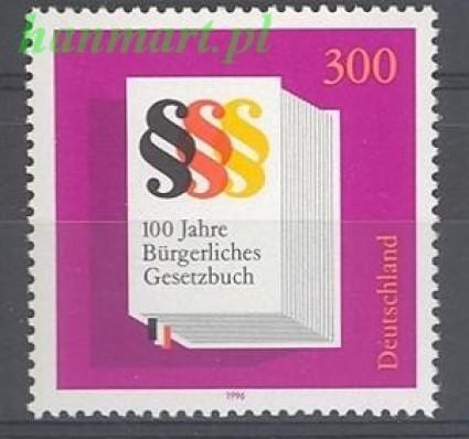 Niemcy 1996 Mi 1874 Czyste **