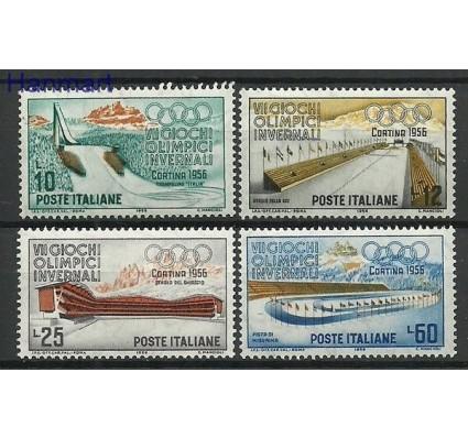 Znaczek Włochy 1956 Mi 958-961 Czyste **