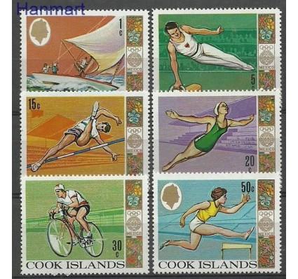 Znaczek Wyspy Cooka 1968 Mi 201-206 Czyste **