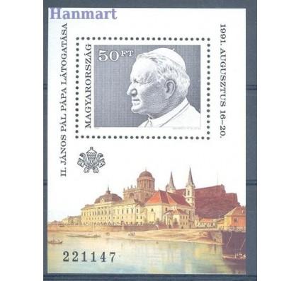 Znaczek Węgry 1991 Mi bl 215 Czyste **