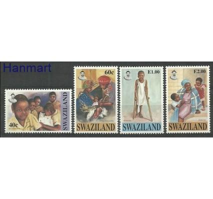 Znaczek Suazi 1996 Mi 668-671 Czyste **
