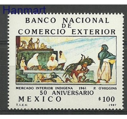 Znaczek Meksyk 1987 Mi 2023 Czyste **