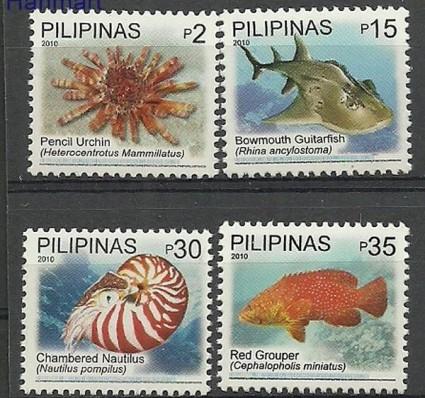 Znaczek Filipiny 2010 Mi 4392-4395 Czyste **