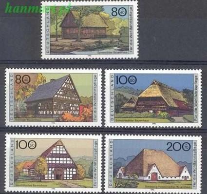 Niemcy 1996 Mi 1883-1887 Czyste **