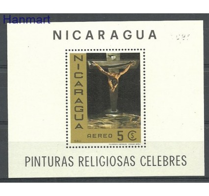 Znaczek Nikaragua 1968 Mi bl 67 Czyste **