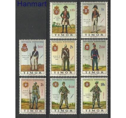 Znaczek Timor Wschodni 1967 Mi 348-355 Czyste **